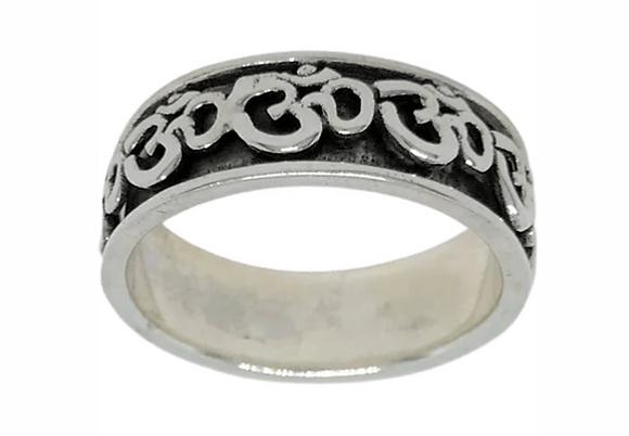 Kinetic Ohm Symbol Ring .925