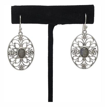 Labradorite Magic Lace Earrings .925