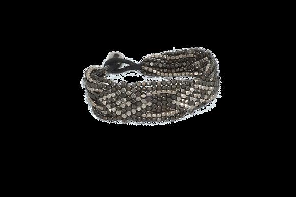 Deco Diamond Twist Bracelet