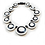 Thumbnail: Tibetan Horn Dilated Pupil Collar Necklace