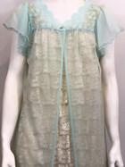 60s Gilead Peignoir over a 40s Elizabeth Hayes slip dress