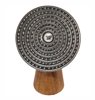 Chapati Large Shield Ring .925