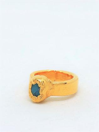 Engulfing Bezel Ring