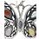Thumbnail: Butterfly Earrings .925