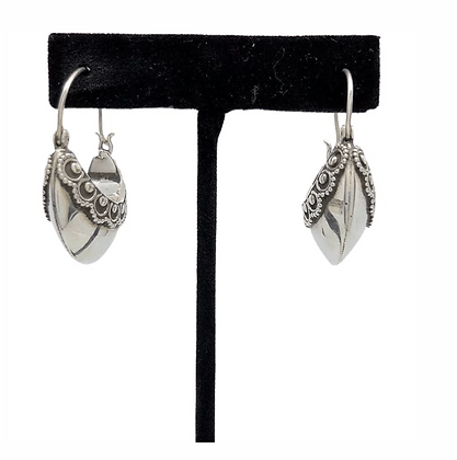Collar Cuff Earrings .925
