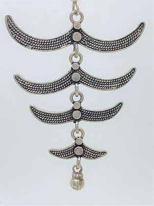Spine Earrings .925