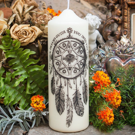 Coreterno Dreamcatcher Pillar Candle