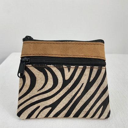 Leather Dual Zip Wallet
