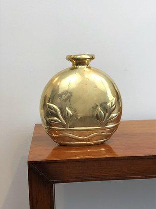 Deco Brass Vase