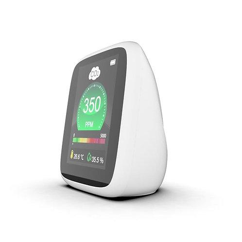 【厚労省推奨のセンサー搭載】二酸化炭素 測定器 エアークオリティーモニター