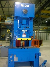 AIDA 150 Ton Mehanical High Speed Press.