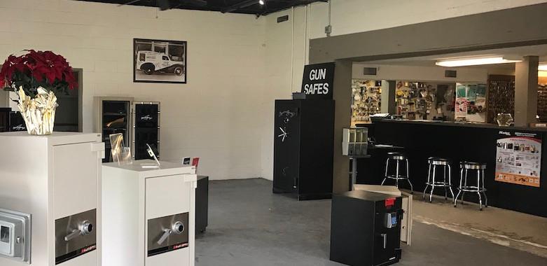 Rolland New Orleans Safe Show Room