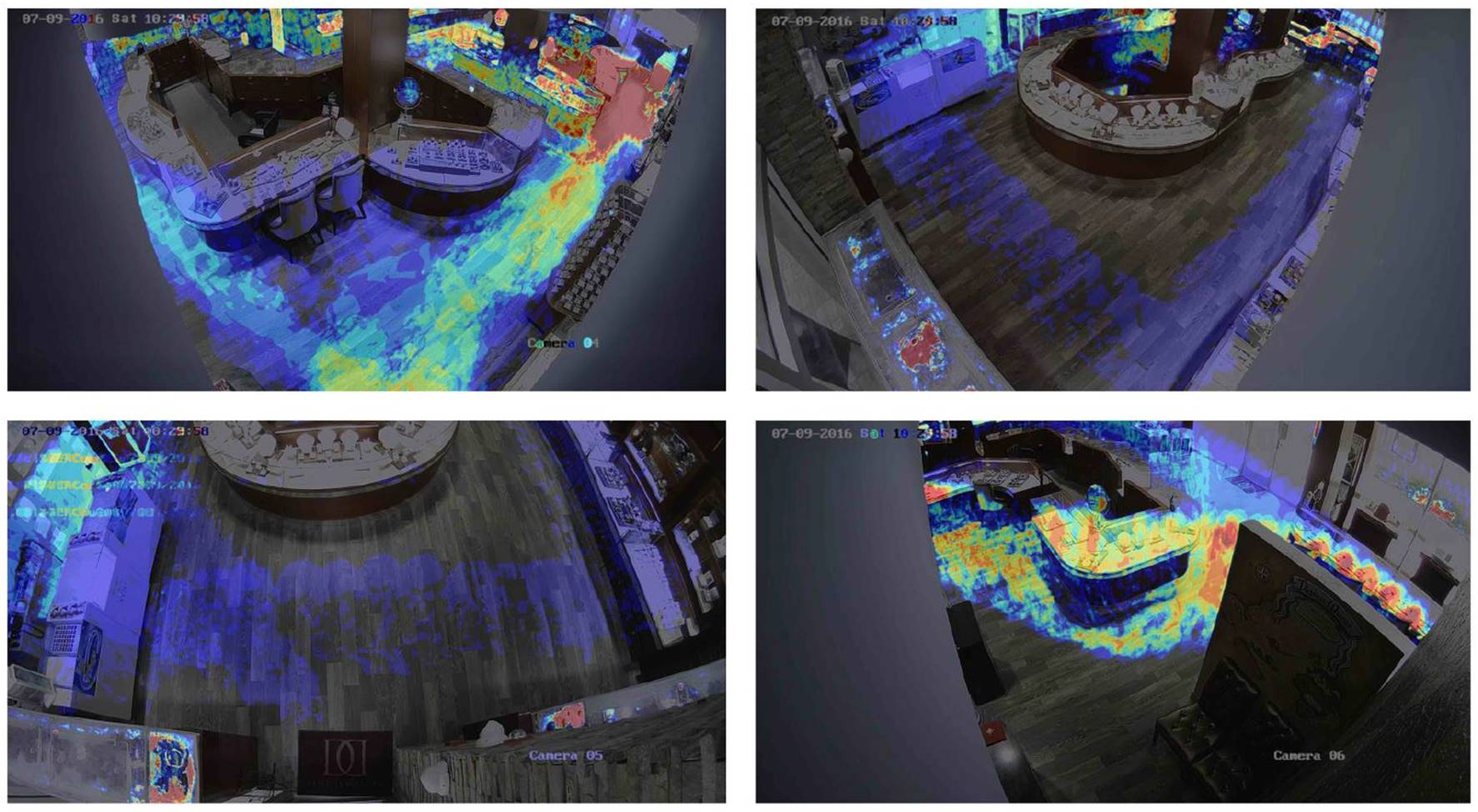 Video Thermal Heat Map