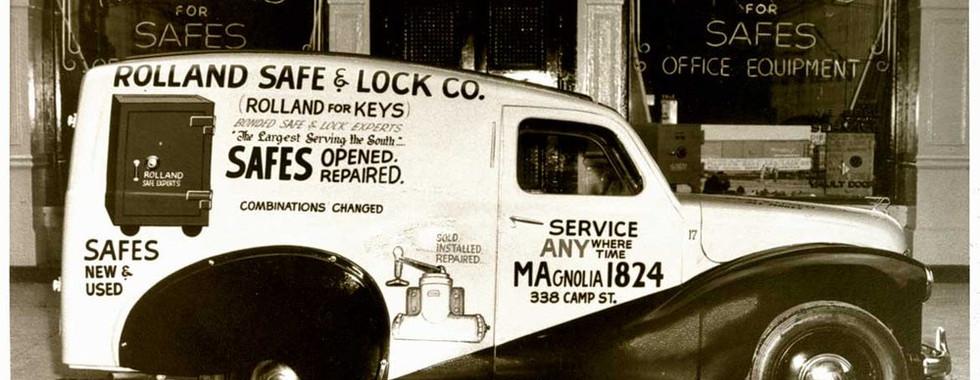 Rolland Safe and Lock - Original Delivery Van