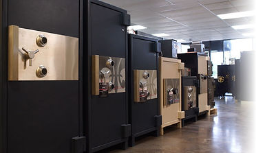 Safes in Rolland Showroom