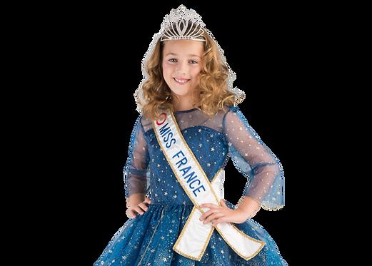 Coffret diadème et écharpe Miss France Prestige