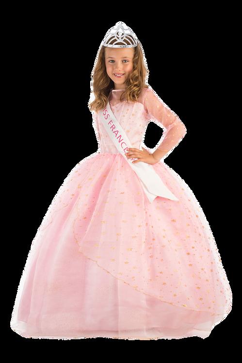 Miss France Deluxe avec housse organza et cintre satin