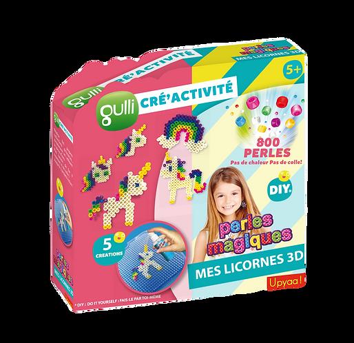 Licornes - Gulli Cré'Activité Perles Magiques