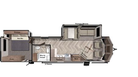 WIldwood Lodge (DLX) - 353FLFB
