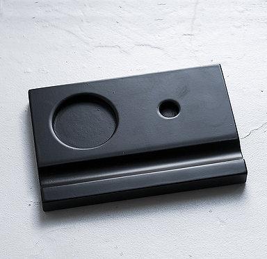 Подставки под чернильницы-непроливайки (черная)