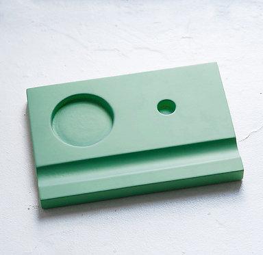 Подставки под чернильницы-непроливайки (зеленая)