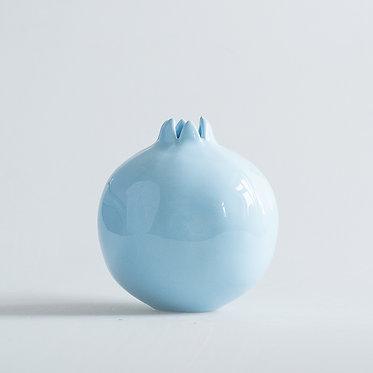 Гранат в голубой глазури