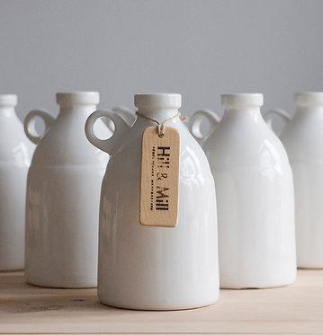 """Большая ваза """"Bottle White"""" 2.4 л."""