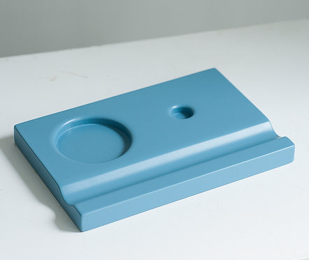Подставки под чернильницы-непроливайки (голубая)