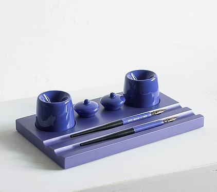 Набор предметов для чистописания (двойной, фиолетовый)