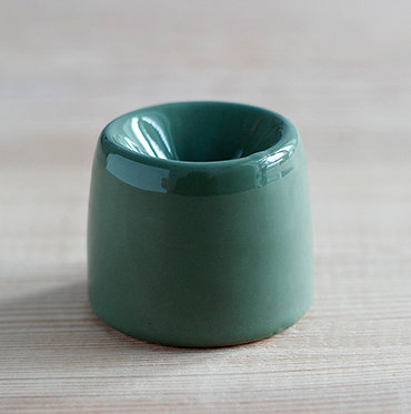 Чернильница - непроливайка (зелёная)