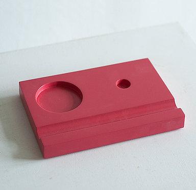 Подставки под чернильницы-непроливайки (красная)