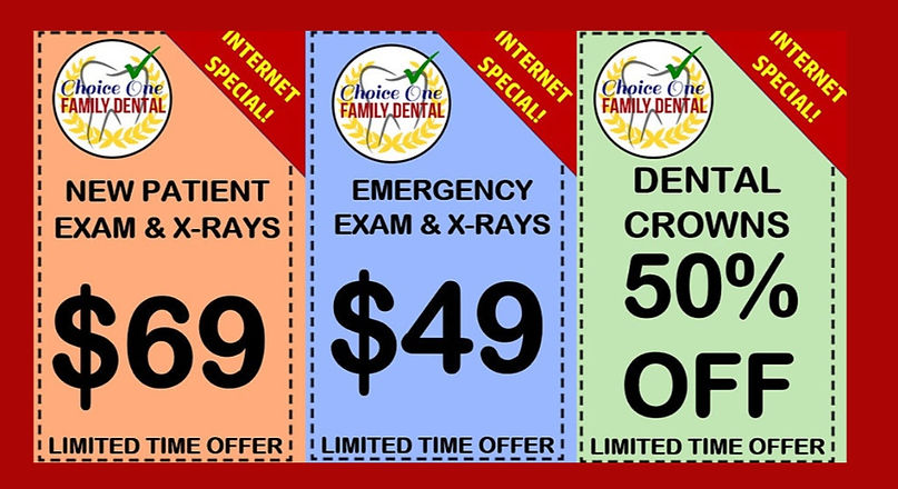Dental Coupons & Specials San Antonio