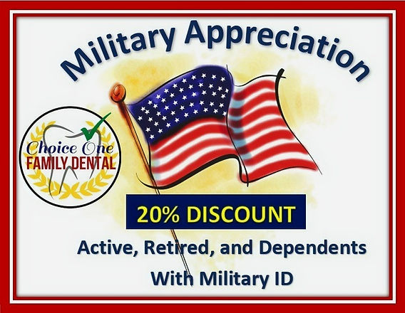 CHOICE ONE FAMILY DENTAL MILITARY DISCOUNT SAN ANTONIO, TX