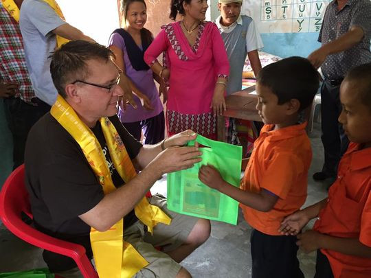 San Angeloan redoubles Hope for Nepal efforts