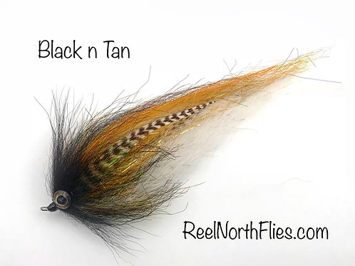 "8"" Black n Tan - Quick Shedding"