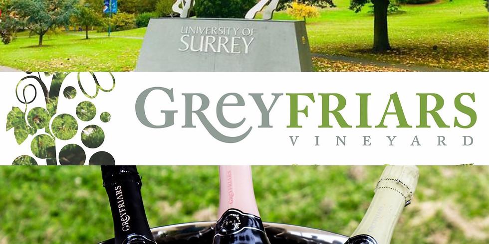 English Sparkling Wine Tasting at University of Surrey