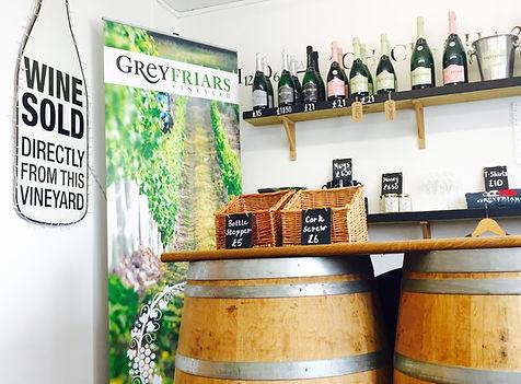 Wine shop, cellar door shop