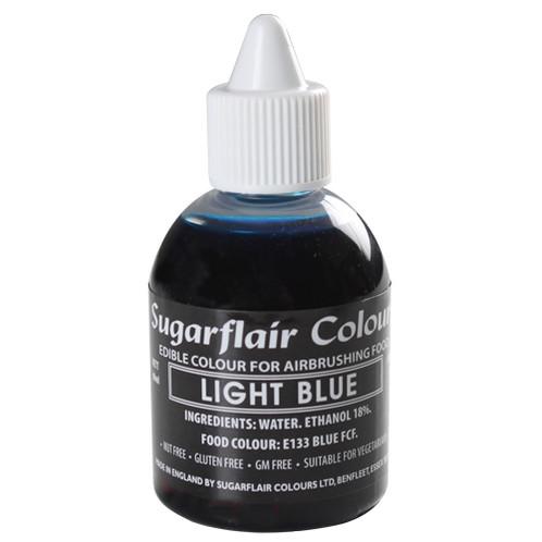 Sugarflair Colorante para Aerógrafo - Light Blue, 60ml