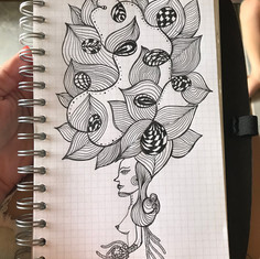 Sketch with nankin