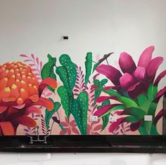 wall art - acrylic paint