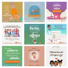 Projeto Lar - Post para Redes Sociais