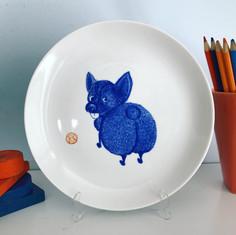 Silvia Britto - handmade porcelain collection
