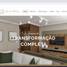 Website Great Homes - Imóveis