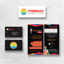 Logotipo e Papelaria - Thermax - Termografia Humana