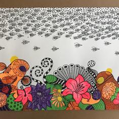 Grafismo, Patterns e Guache
