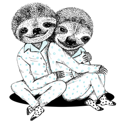 Sloth Illustration - Bicho Preguiça