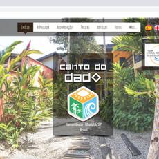 Website Pousada Canto do Dado