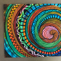 Grafismo, Patterns e Guache - Spiral