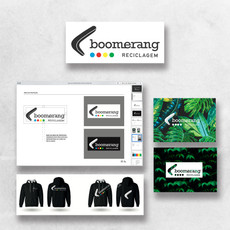 Logotipo - Boomerang Reciclagem
