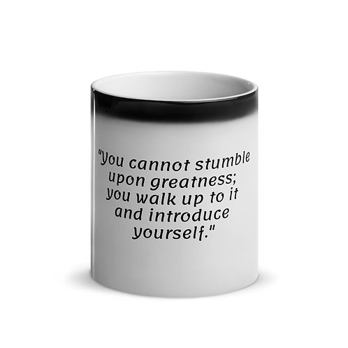 TGYLS Introduce Yourself Glossy Magic Mug